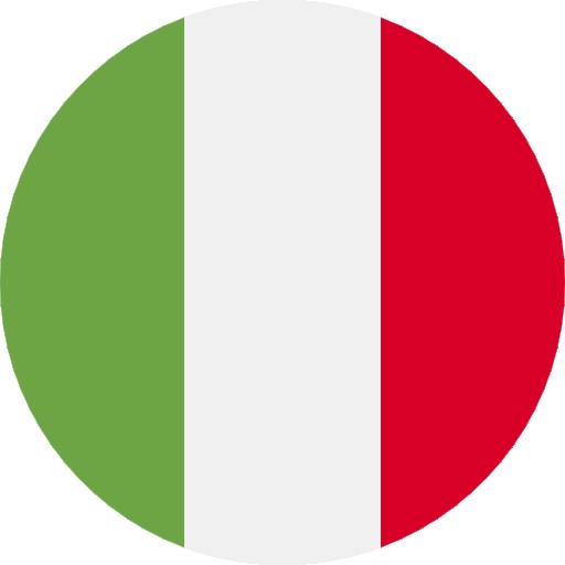 Italian Flag Shampora